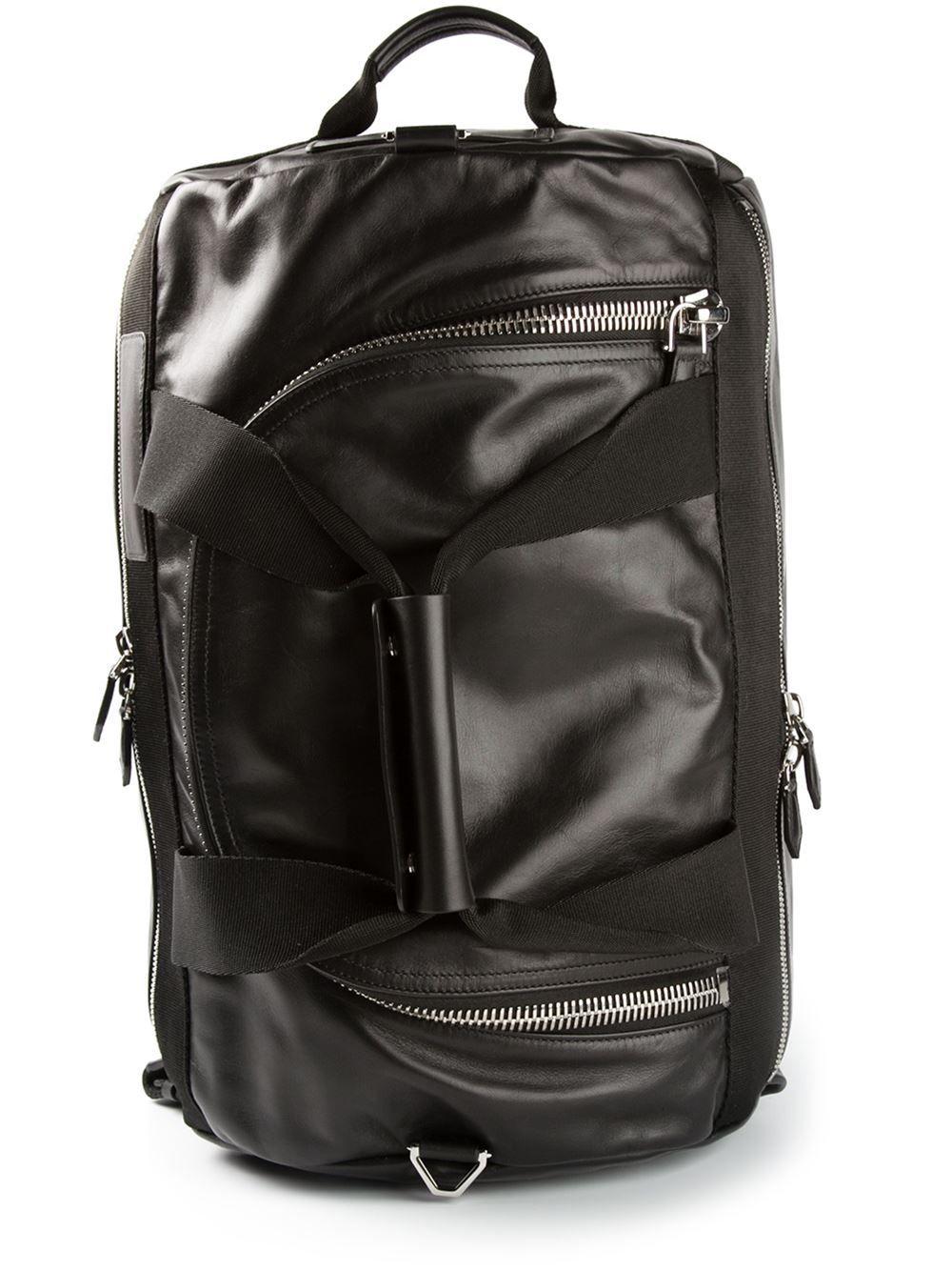d803d878ca3 Givenchy Medium Zip Shoulder Bag - Dell oglio - Farfetch.com Black Leather  Backpack