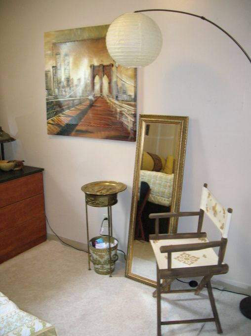 Golden Gettaway, Dorm room decorated with golds and browns tasteful but inexpensive, , Dorm Rooms Design
