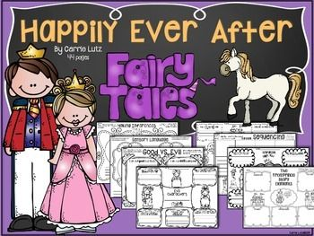 This product digs deep into Fairy Tales.  Your students will look at these old tales in a new way!  You will find a large variety of ways for your students to learn about fairy tales. You can pick and choose which stories you want to read and which pages you want to use.