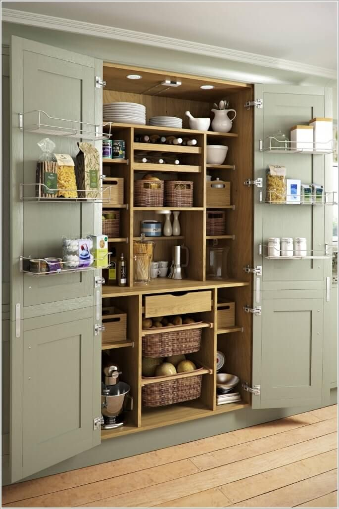 Claim Any Free Shelves Available Inside Your Pantry | Clever DIY ...