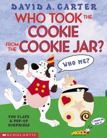 Who Took The Cookie From The Cookie Jar Book Who Took The Cookie From The Cookie Jardavid Carter Httpswww