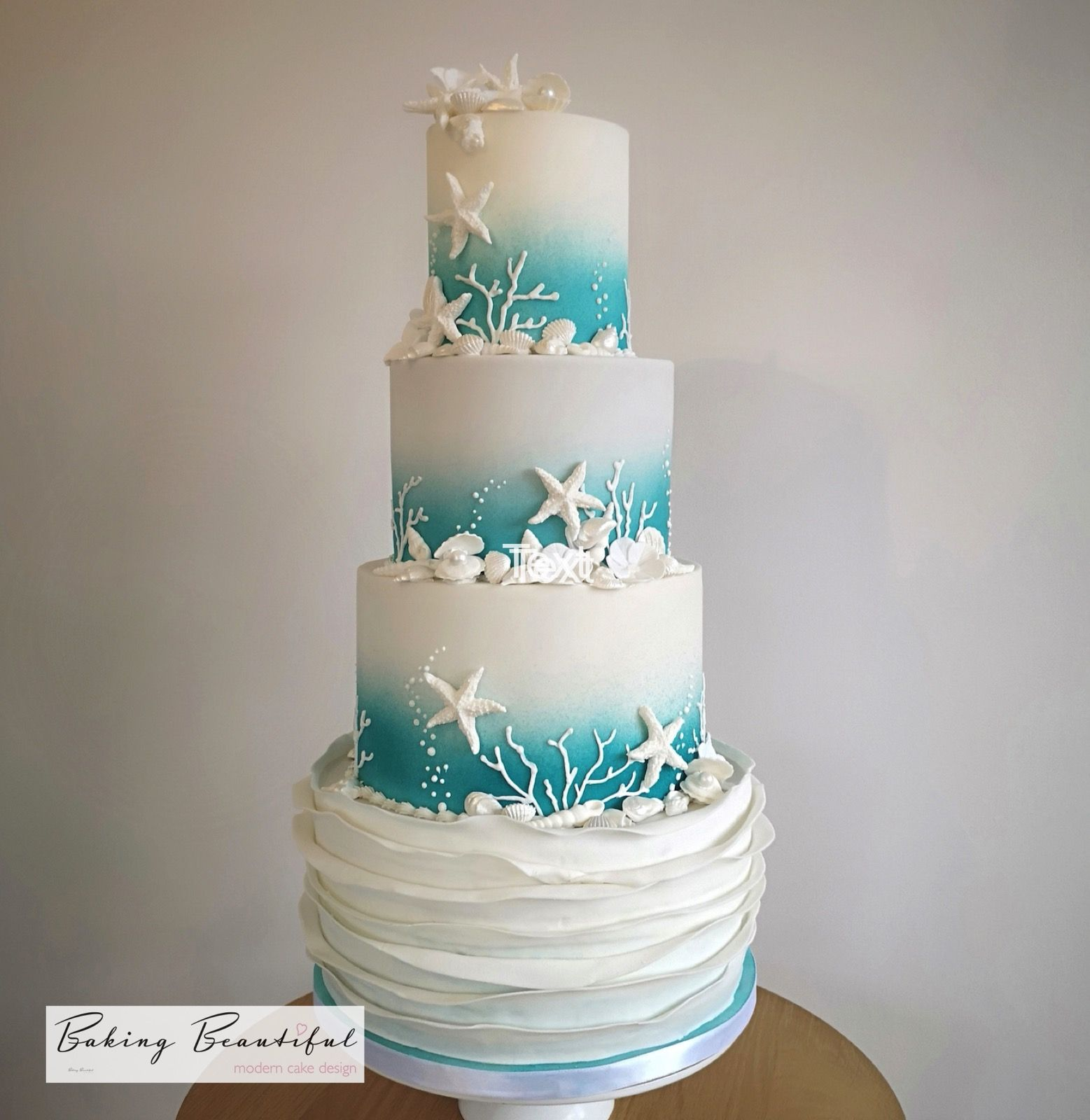 Home With Images Beach Wedding Cake Beach Theme Wedding Cakes