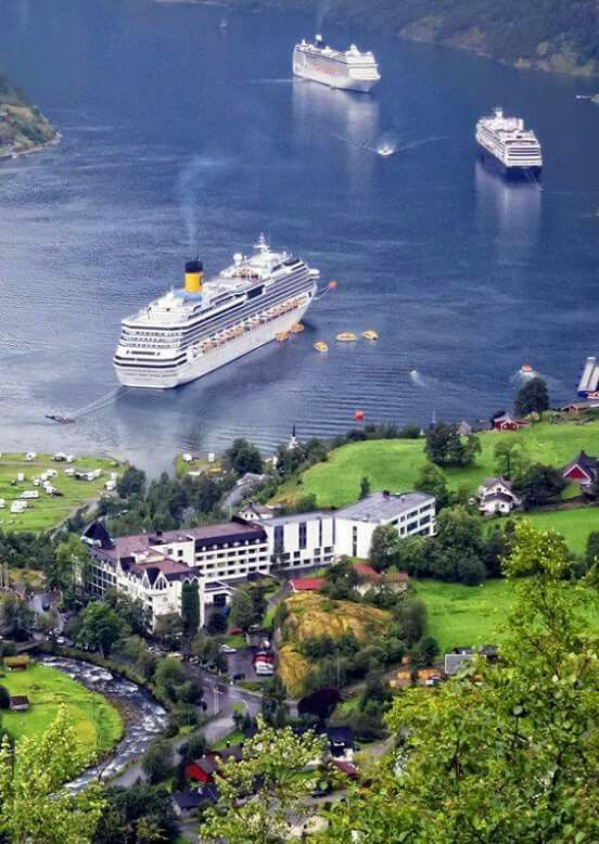 Geiranger, Noruega de La V.L.