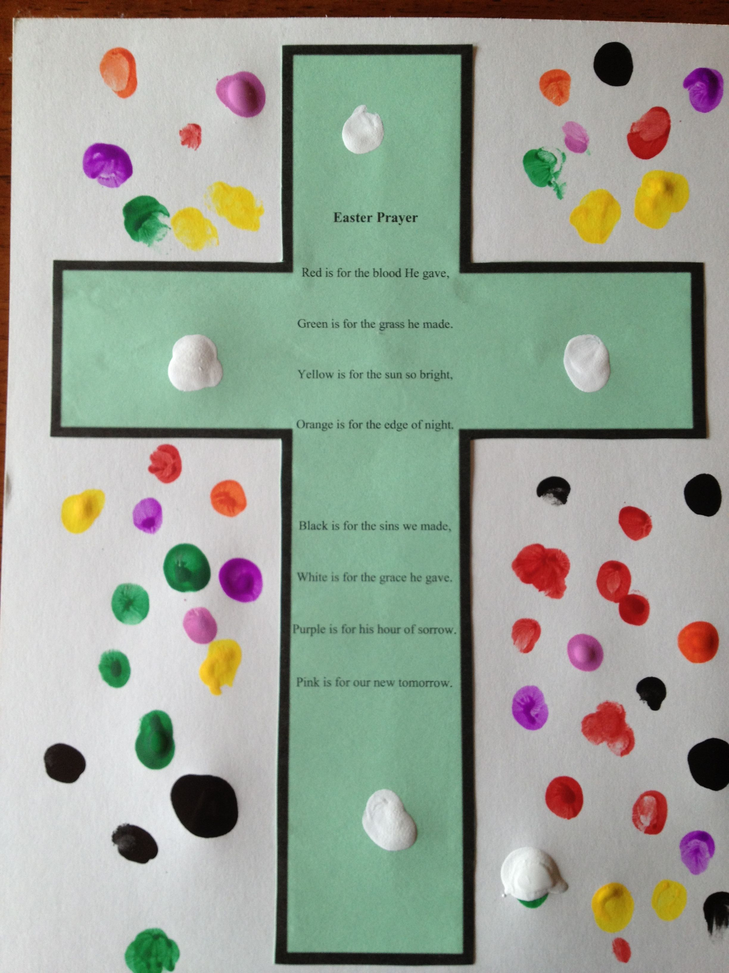 Jelly Bean Prayer Revised For Toddlers And Preschoolers Was Great Finger Painting Fun With The