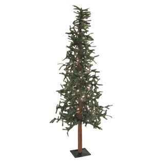 6 alpine christmas tree with lights shop hobby lobby - Skinny Christmas Trees Hobby Lobby