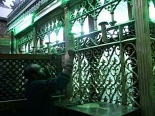 Mazar Hazrat Nafisa binte Hassan (May Allah be pleased with her) in Cairo