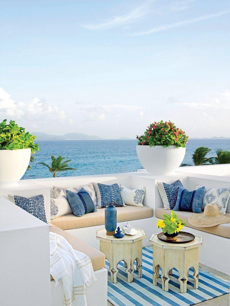 10 Beach House Rooms With Amazing Coastal Views #beachhouse