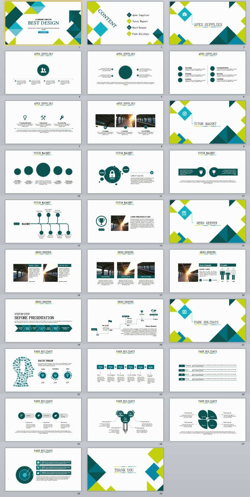29 Blue Simple Powerpoint Template Pinterest Simple Powerpoint