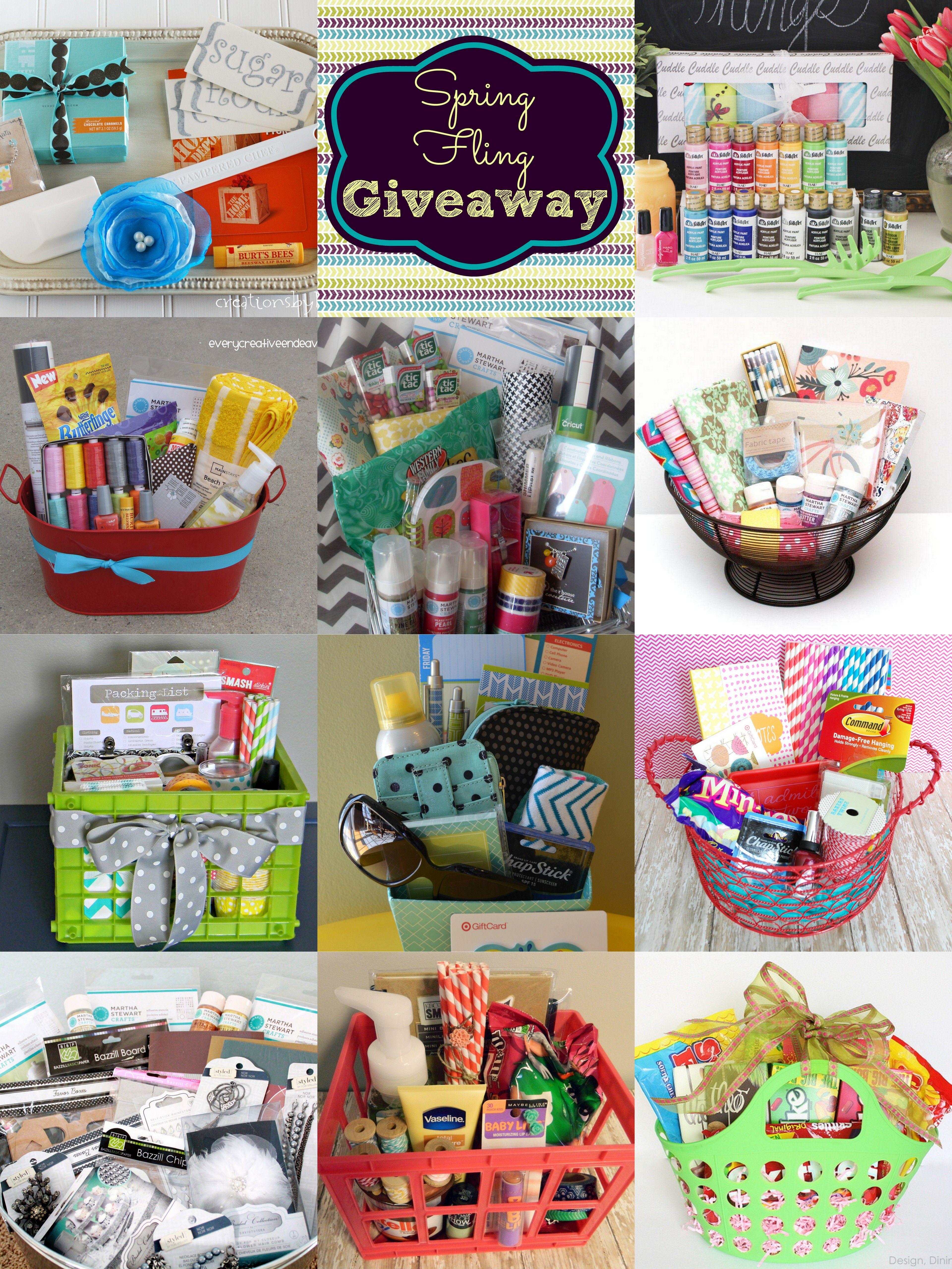 Spring Fling Baskets Giveaway | Pinterest | Geschenk, Geschenkideen ...