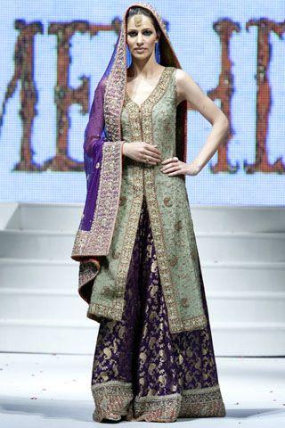 Pakistani latest fashion dress show