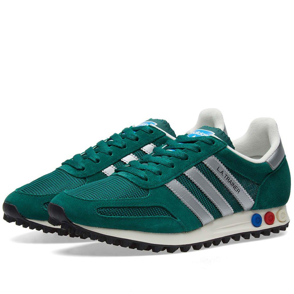 adidas l.a trainer green