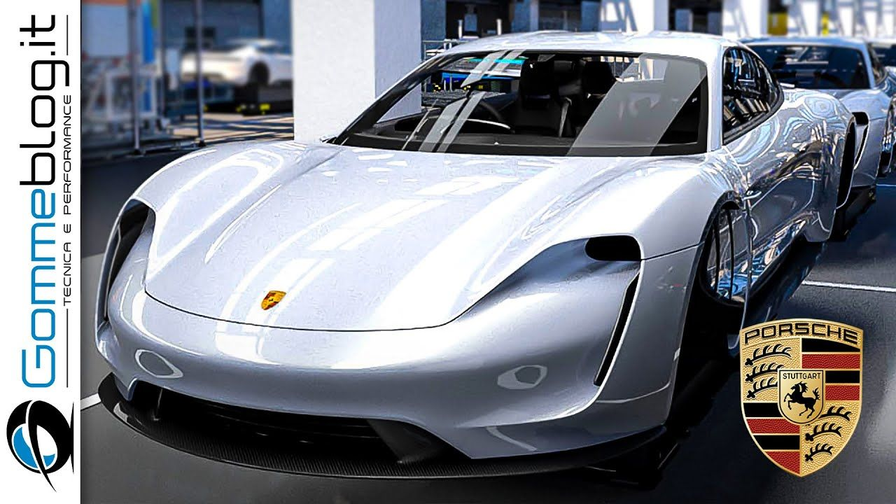 2020 Porsche Taycan Assembly Line In Germany Porsche Taycan Porsche Electric Sports Car