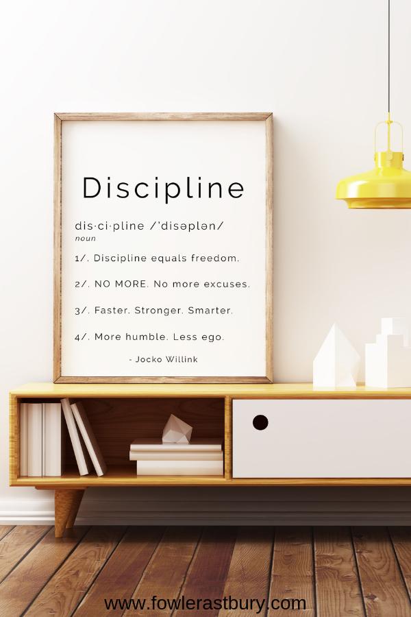 Jocko Willink Discipline Art Print Inspirational Dictionary Etsy Motivational Art Prints Personalized Wedding Print Inspirational Prints