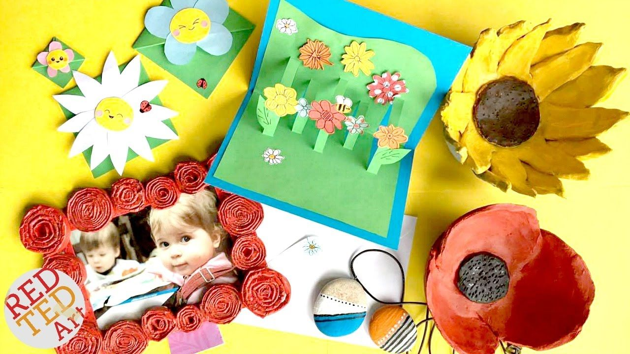 5 Mothers Day DIYs Cute & Easy Mother's Day Gift Ideas