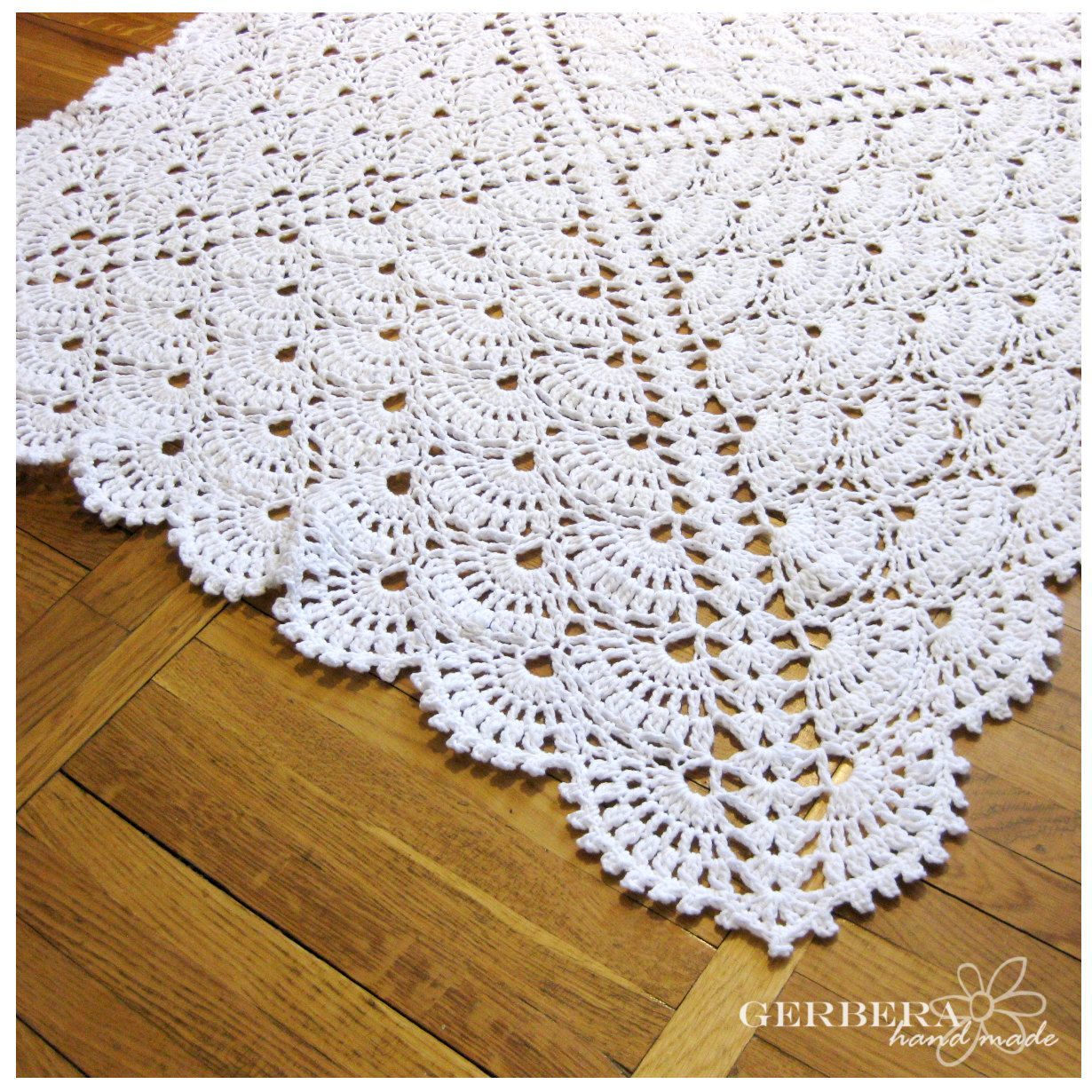 Easy Crochet Baby Boy Clothes Patterns : Christening Baby crochet blanket - Baby Girl Blanket and ...