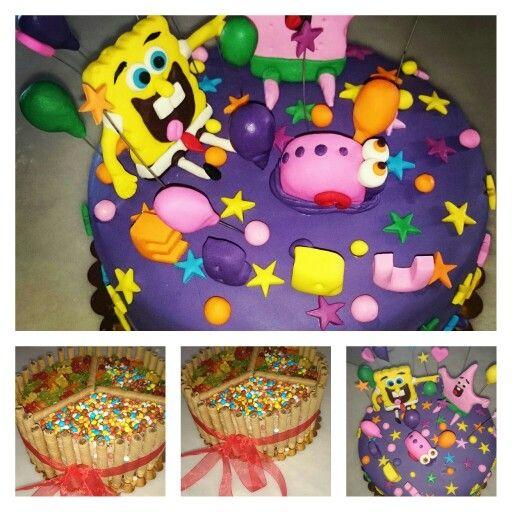 Spongebop cake