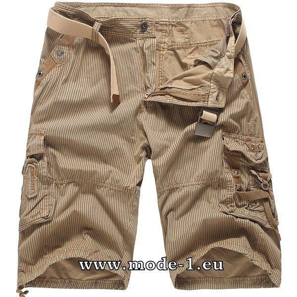 Kurze Hose für Herren in Beige #mode #fashion #für #herren