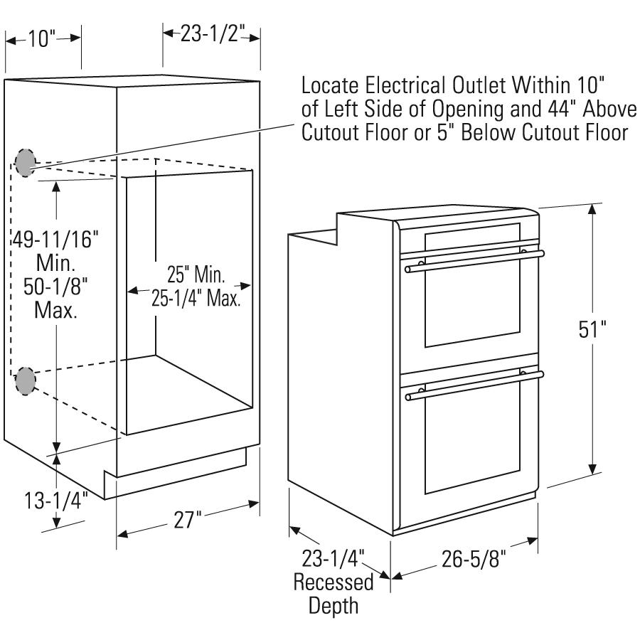 ada compliant range dimensions - Google Search | Kitchen cabinets ...