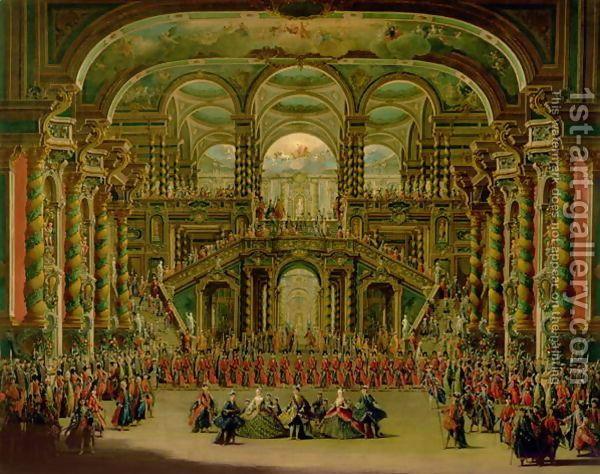 Rococo Painting Rococo Scenic Design Baroque