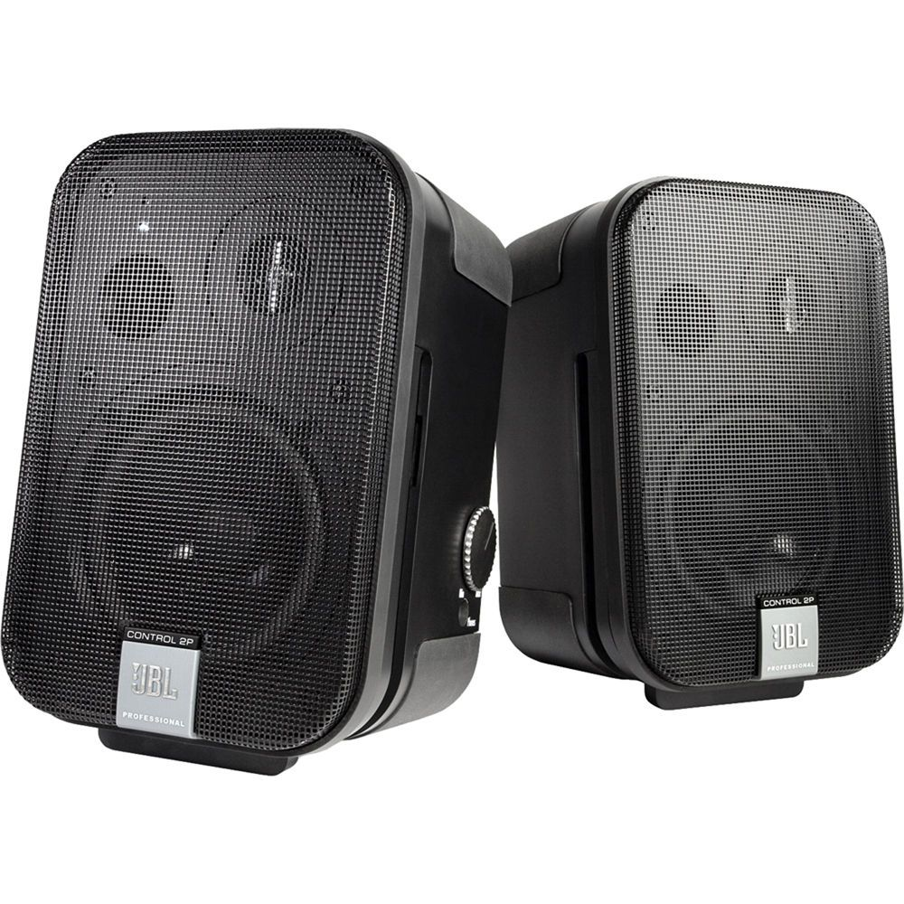 Jbl Control 2p 5 25 2 Way Powered Speaker Pair With Images Speaker Jbl Powered Speakers