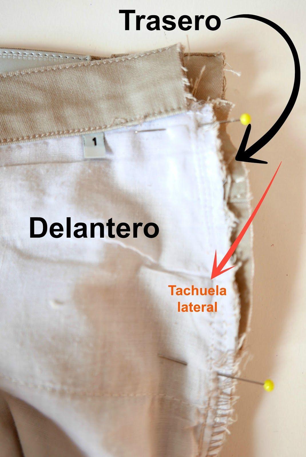 Aprender Paso Cintura PantalonConfeccion A Estrechar Curso Nnm0w8