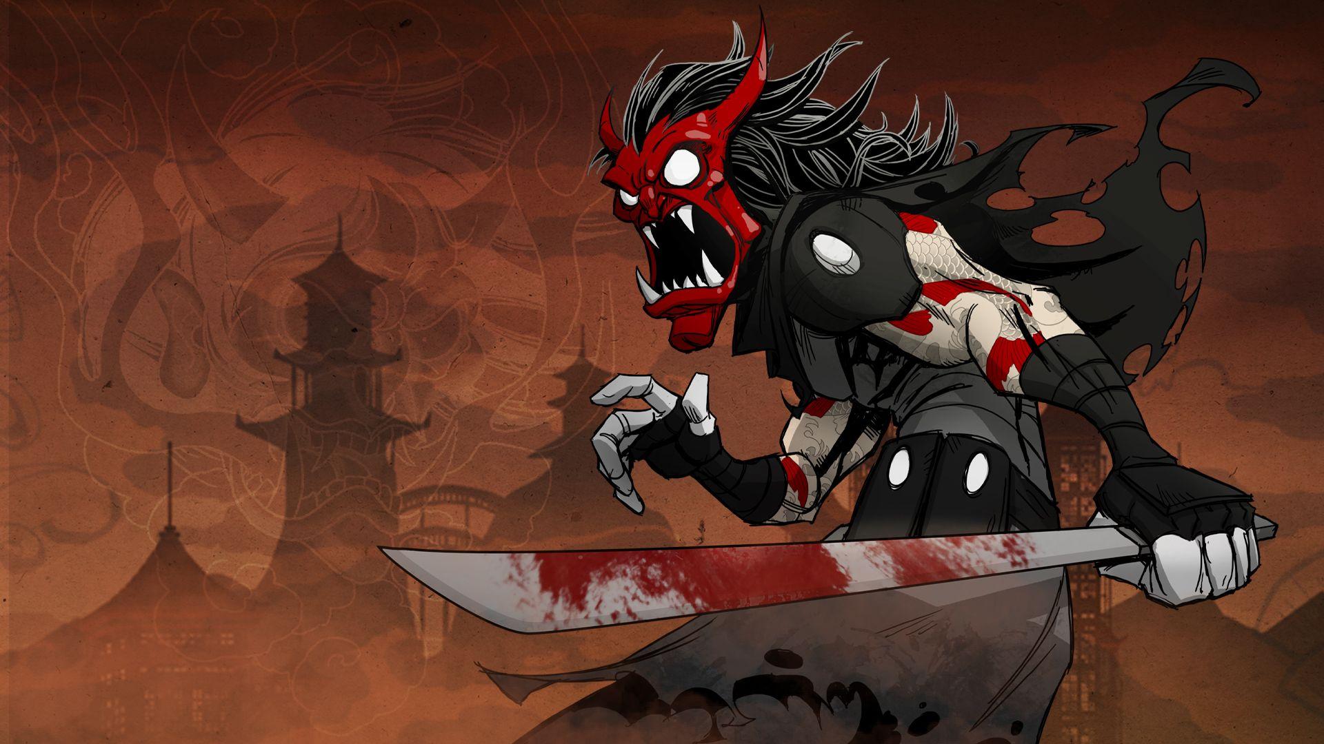 Mark Of The Ninja Steam Card 4 9 Path Of Nightmares Ninja Art