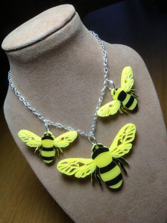 bee... 'utiful'...laser cut perspex summer by RichardsonRichardson, £14.95
