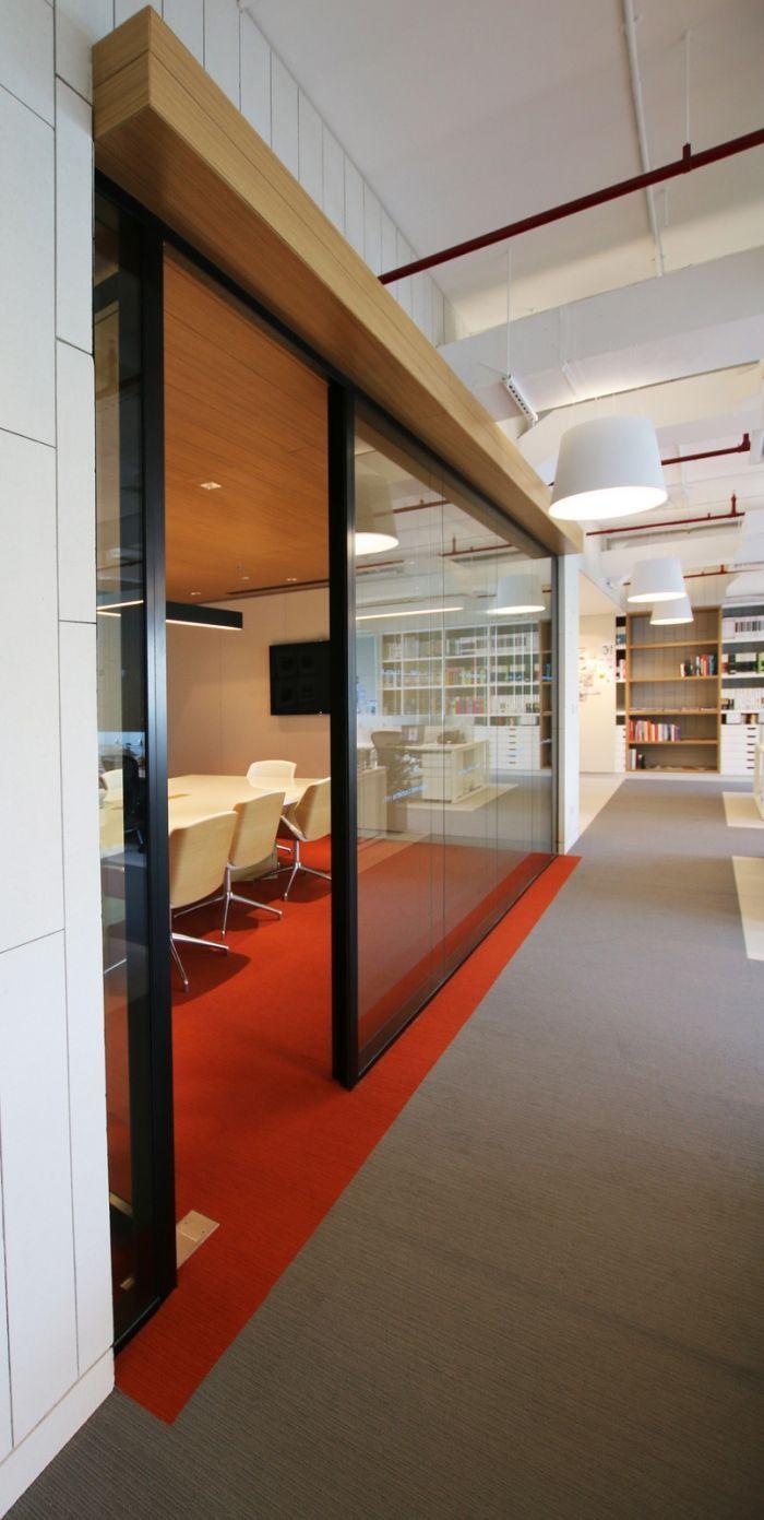 Office hallway lighting  artilleryofficedesign  Office designs  Pinterest  Office designs