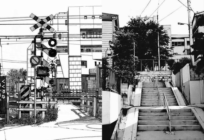 10 Gambar Ilustrasi Pemandangan Lingkungan Mangaka Jepang Buat Ilustrasi Pemandangan Yang Realistik Download 22 Gambar Ilustr Pemandangan Gambar Ilustrasi
