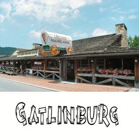 Nice Log Cabin Pancake House In Gatlinburg   Delicious Pancakes And Other  Breakfast Dishes For You To