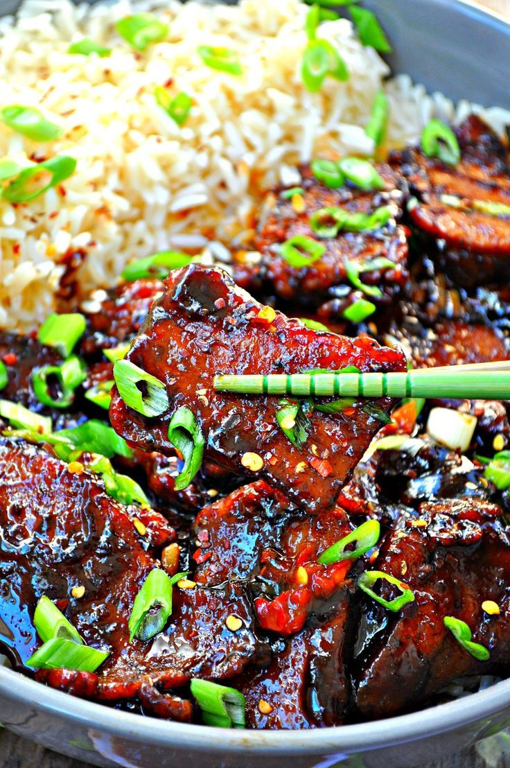 Vegan Crispy Mongolian Seitan