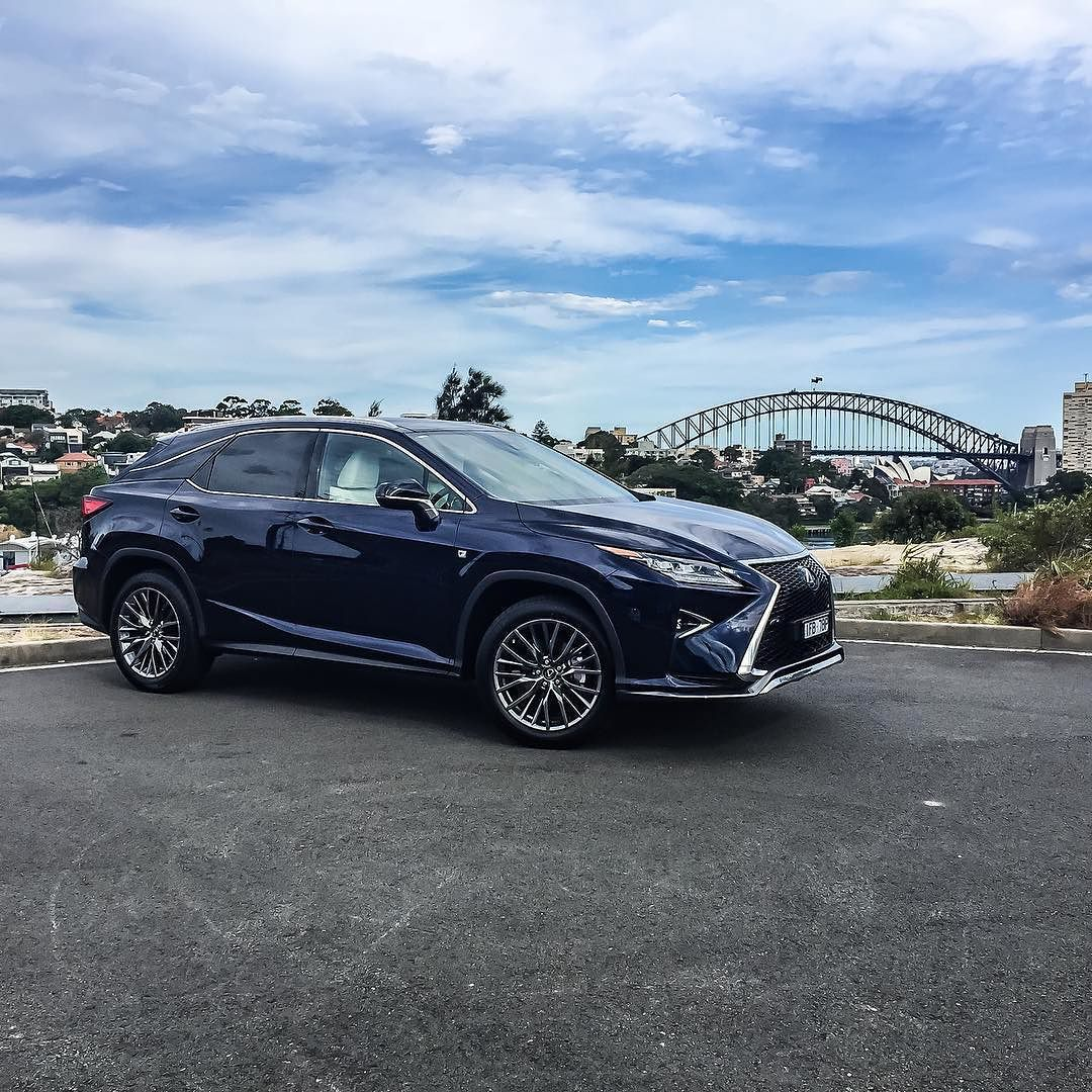 """"""" Love the look of the new Lexus RX350 F Sport! Fun to"""