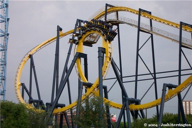 Batman The Ride Photo From Six Flags Over Texas Six Flags Over Texas Six Flags Roller Coaster