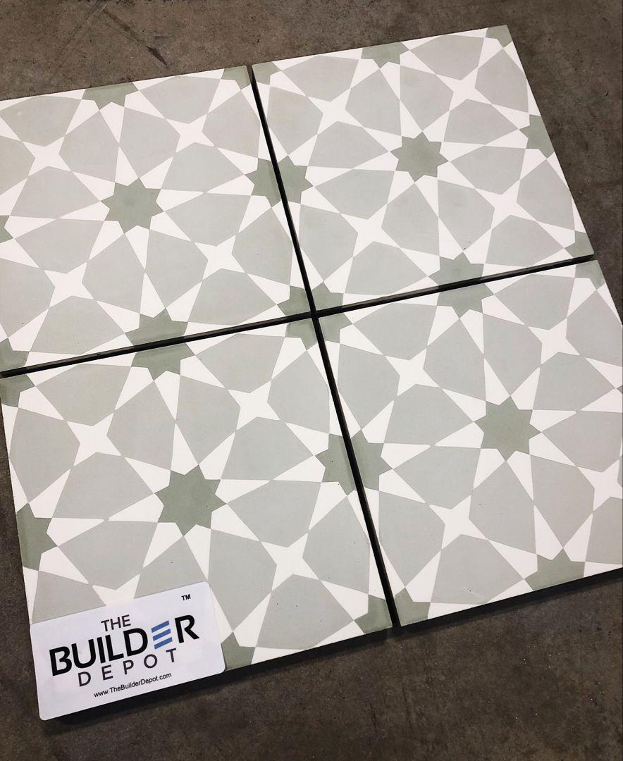 10 95 Per Sq Ft Free Shipping Cement Tiles Cement Tile Encaustic Cement Tile Concrete Tiles