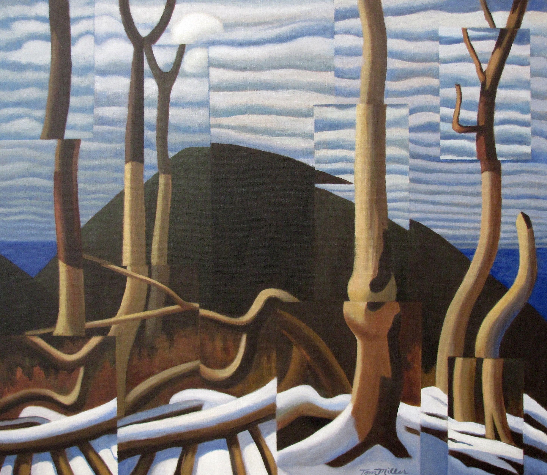 Medium, Original, Post Modern, Painting, Acrylic on Canvas