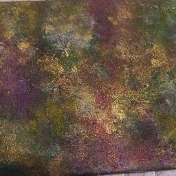 My second abstract canvas