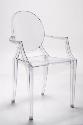 Louis-Ghost-Chair-Inspired-Plexiglas-Stuhl-Klar-Acryl-Transparent ...