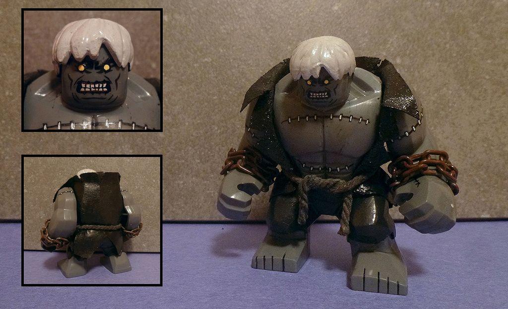 Solomon Grundy Minifigure Super Heroes Marvel Figure For Custom Lego Minifigure
