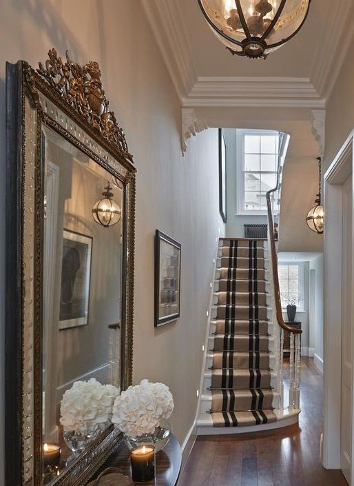 London Townhouse Townhouse interior, Entrance hall decor