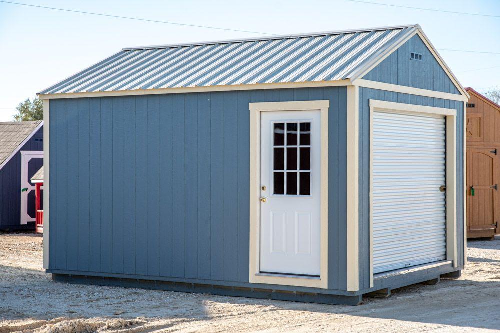 Product Garage Backyard, Side door, Garage