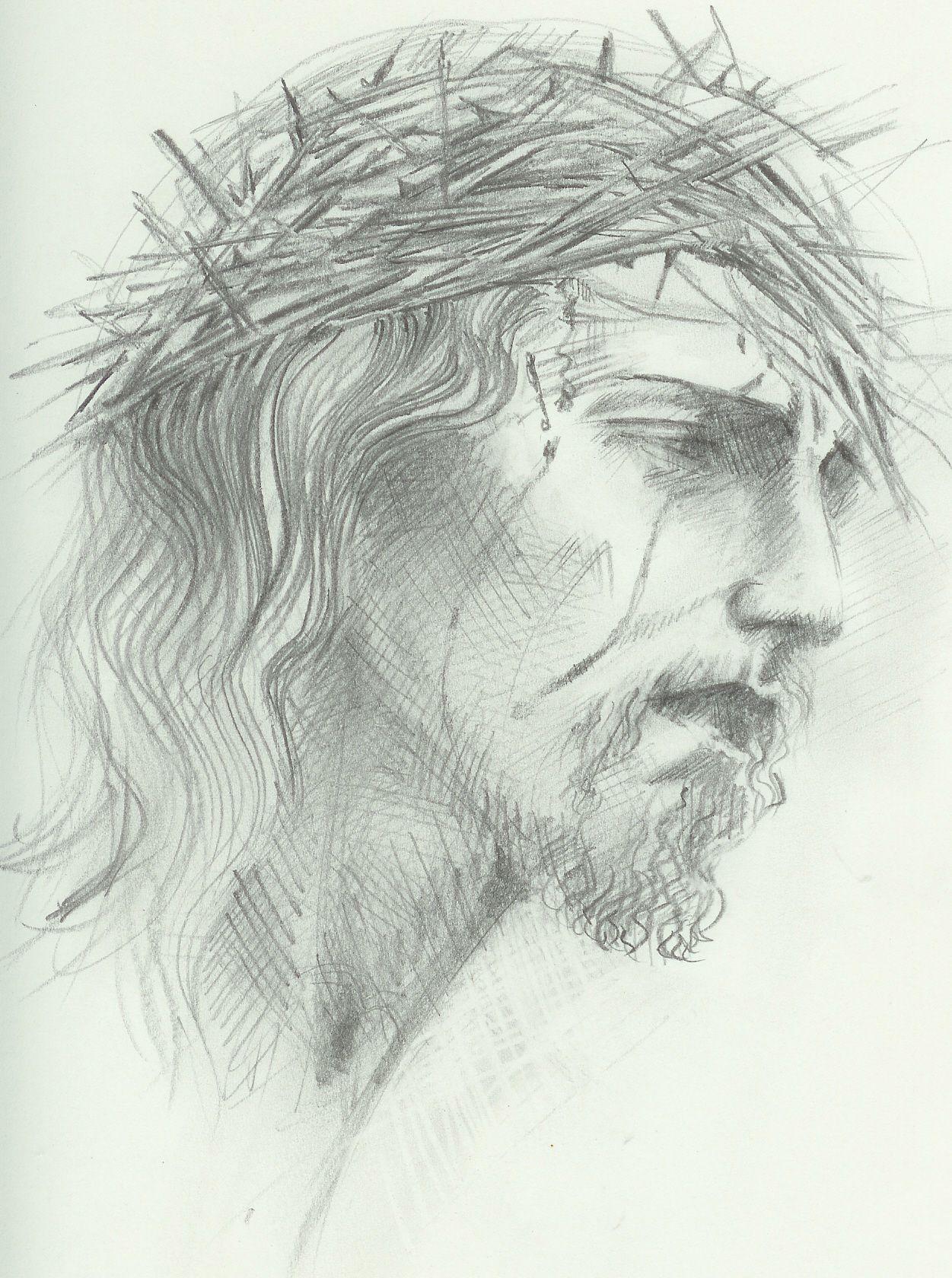 Crown of throns jesus drawings easy drawings amazing drawings pencil drawings jesus