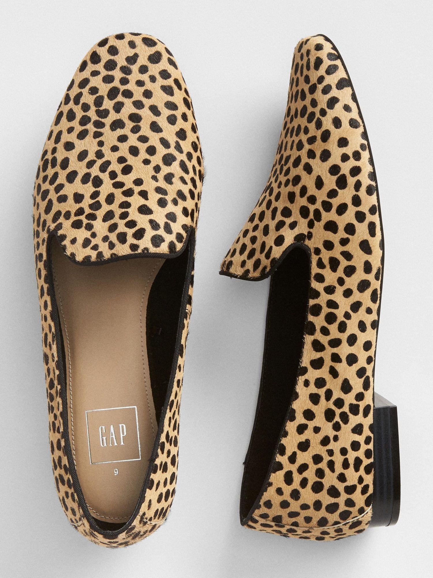 Cheetah Print Loafers | Gap | Cheetah