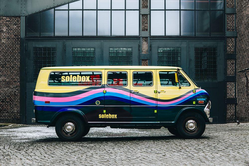 Nike Air Max 97/1 in a Van