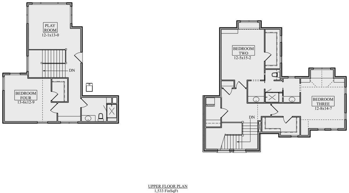 House Plan 5631 00108 Craftsman Plan 4 917 Square Feet 4 Bedrooms 3 5 Bathrooms In 2020 House Plans Basement Bedrooms House Plans Farmhouse
