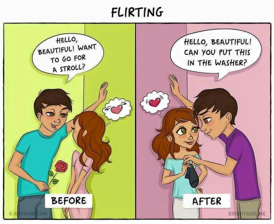 Hoe flirten