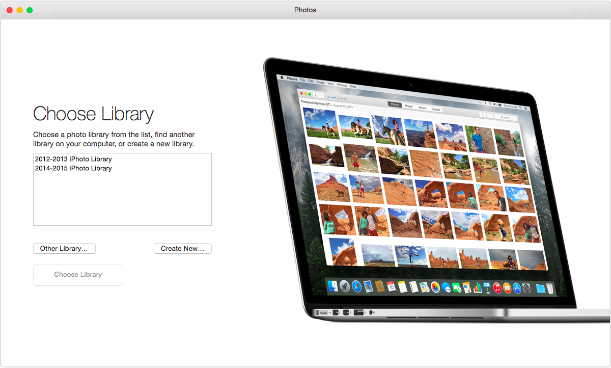 Updating iphoto for mac
