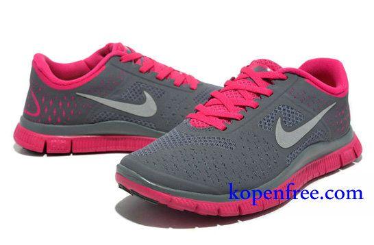Goedkoop Schoenen Nike Free 4.0 V2 Dames (kleur:vamp grijs