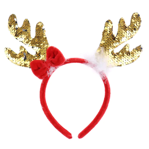 Girl S Elli By Capelli Sequin Reindeer Antlers Reindeer Headband Reindeer Antlers Reindeer