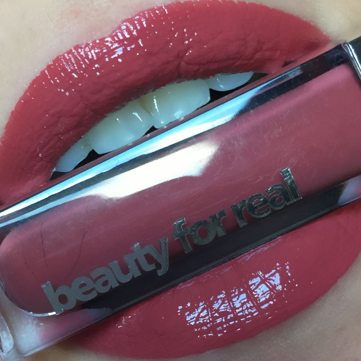 Beauty For Real Lip Cream Always There Lips Swatch Makeup Make Over Lipswatch Lipstickswatch
