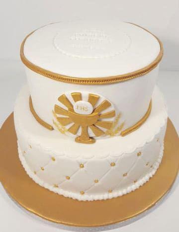 tortas de comunion de varon